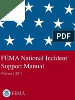 Fema National Incident Support Manual 03-23-2011