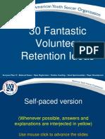 30 Fantastic Volunteer Retention Ideas