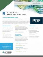 ACP Revit Architecture Datasheet 082916RA