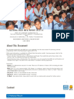 National Read India Report 2013-14