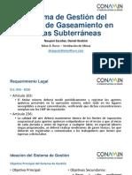 Sistema de Gestion de Gaseamiento en Minas Subterráneas