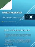 S1 a Teoria de Las Organizaciones