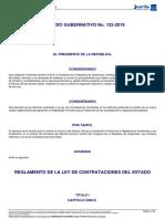 Reglamento Ldce Acdo Gub 122-2016