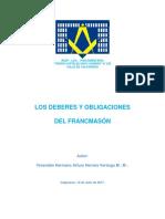 Trabajo Los Deberes y Obligaciones Del Masón-7p