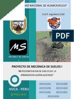 PROCESO DE REALIZACION DE CALICATAS