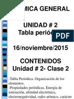Conferencia 2.2. Tabla periodica Ing. Industrial.ppt