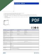 Modular TDX Panel Protector 300kA_Data Sheet