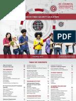 EC-Council University Catalog 2017-V6