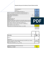 Refractory Thickness Calculations