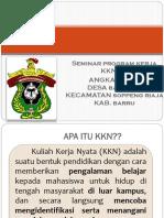 Seminar Program Kerja Kkn-pk Ang 53