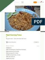 Cookpad Com Id Resep 2985557 Nasi Goreng Tuna