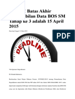 Deadline BOS