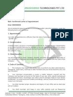 SLN APPOINTMENT LETTER 1.docx