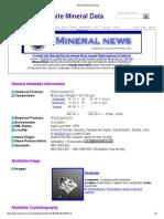 Akdalaite Mineral Data1