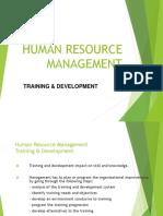 5-Steps HR Training and Development