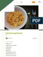 Cookpad Com Id Resep 2978841 Nasi Goreng Kimchi