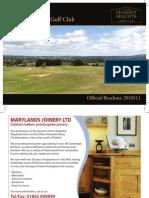 04.08.10 - PRINT READY - Hinksey Heights Golf Brochure 2010