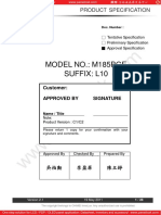 M185BGE L10 Chimei Innolux Lcd Datasheet