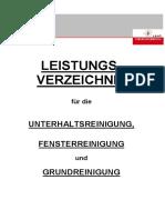 Leistungsverzeichnis_Reinigung