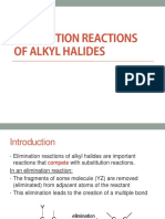 Elimination Reactions of Alkyl Halides (1)