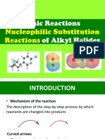 Nucleophilic Substitution Reactions of Alkyl Halides