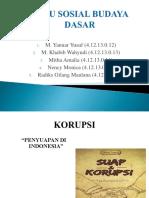 ISBD korupsi