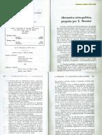 Alternativa Sócio-política, Proposta Poe E. Mounier (Revista Humanística e Teologia 10 (1989))