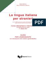 La Lingua Italiana Per Stranieri Guida