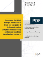 DevOps Foundation Course Catalogue