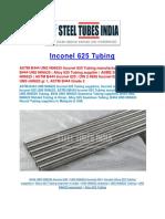 Inconel 625 Tube