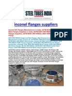 Inconel Fittings Manufacturers