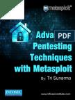 Advanced Pentesting Techniques With Metasploit
