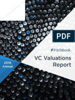 PitchBook 2016 Annual VC Valuations Report