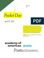 Poem in 1 Pocket