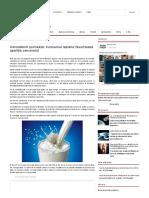 Cercetătorii Șochează_ Consumul Laptelui Favorizează Apariția Cancerului