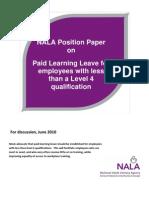 NALA Position Paper on PLL June 2010