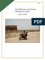 Organizational Behaviours and Management Toolkit Final Draft 14 July 2016