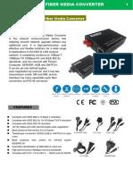 Datasheet Conversores Fast Ethernet DC World