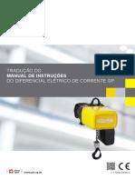 Manual de Instruções Diferencial Eléctrico GIS GP
