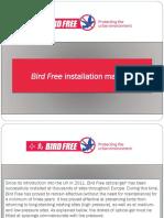 Bird Free Installation Manual