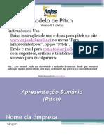 Modelo de Pitch - Anjos Do Brasil