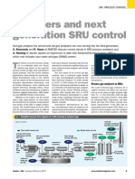 Analyzers and Next Generation SRU Control
