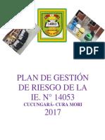 Plan de Gestión Del Riesgo. Magdalina-2017