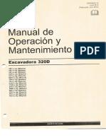 281643814 Manual de Operacion y Mantenimiento CAT 320D