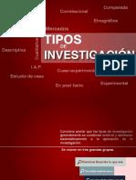 5.0_Tipos de Investigacion
