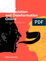 Data And Society Media Manipulation And Disinformation Online