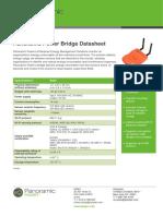 Panoramic Power Wireless Sensors Bridge Datasheet