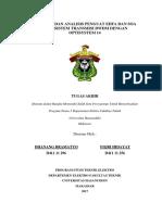 Analisis Sistem DWDM