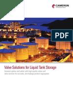 Valve Solutions for Liquid Tank Storage