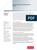Oracle Customer Data Management Cloud Ds